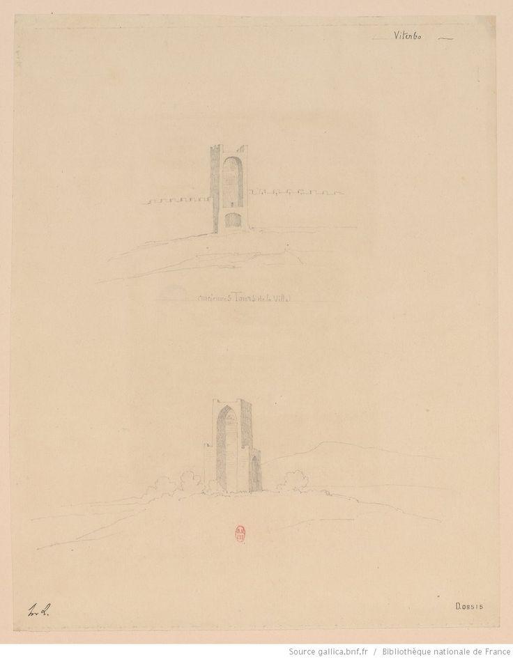 [Viterbe. Deux tours, dont la Torre di San Biele]