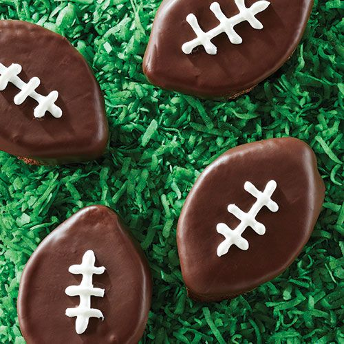 Double Chocolate Brownie Footballs - The Pampered Chef®