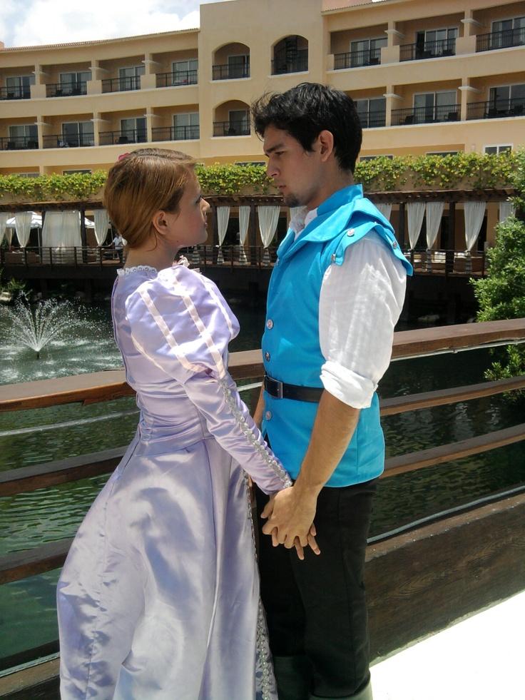 Rapunzel y el Principe Azul / Rapunzel and Prince Charming #CuentosdeHadas