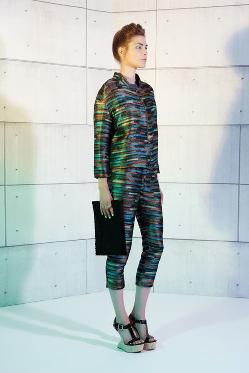 UNEINS SS14 Tabea Jacket & Trousers #uneins #fashion