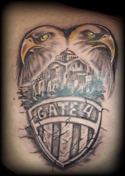 paok tattoo