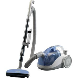Panasonic Bagless Canister Vacuum MC-CL310 - a decent choice if you need an inexpensive canister vac. The swivel 6-foot attachment hose and multi-angle nozzle are helpful according to owners.
