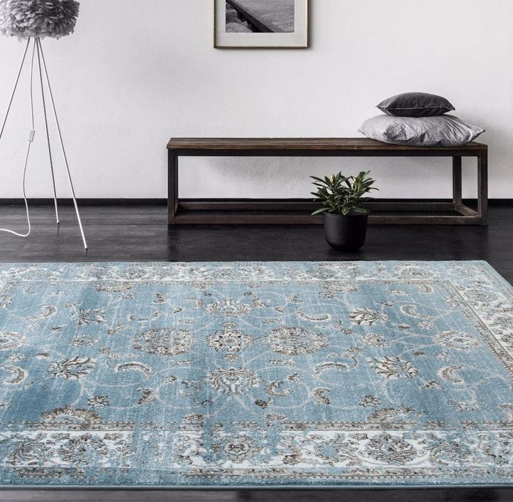 blue distressed oriental area rugs - Area Carpets
