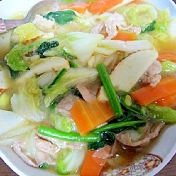 ★白菜とたっぷり野菜の中華あんかけ炒め★