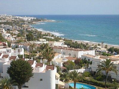 Spain, Andalucia, Almeria, Mojacar Beach