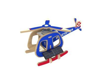 RoboTime - Solárny vrtuľník farebný