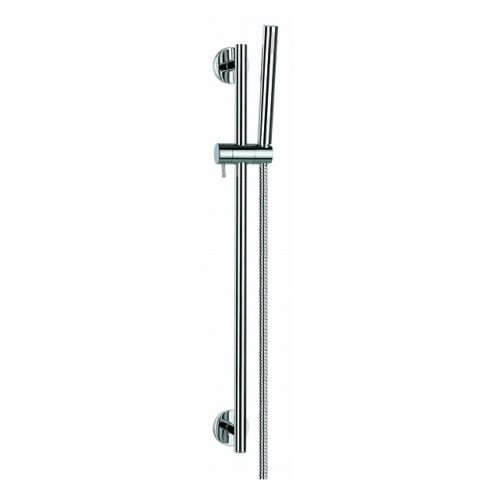 Waterware Elisa Slide Shower Single Function  - Sturdy metal constuction with 1.5m hose and 15mm wall elbow.