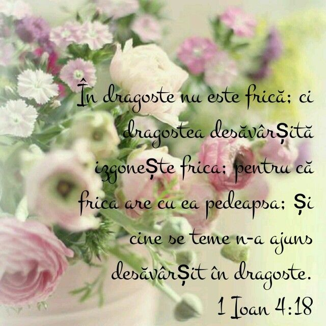 1 Ioan 4:18