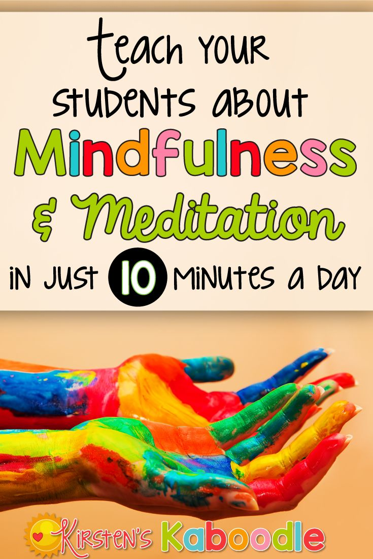 Are you interested in teaching your students about mindfulness and meditation? Research shows that providing mindfulness and meditation instruction to kids improves academic achievement and reduces anxiety and stress. Give it 10 minutes each day and watch your students transform!