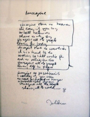 Songtext von John Lennon - Imagine Lyrics