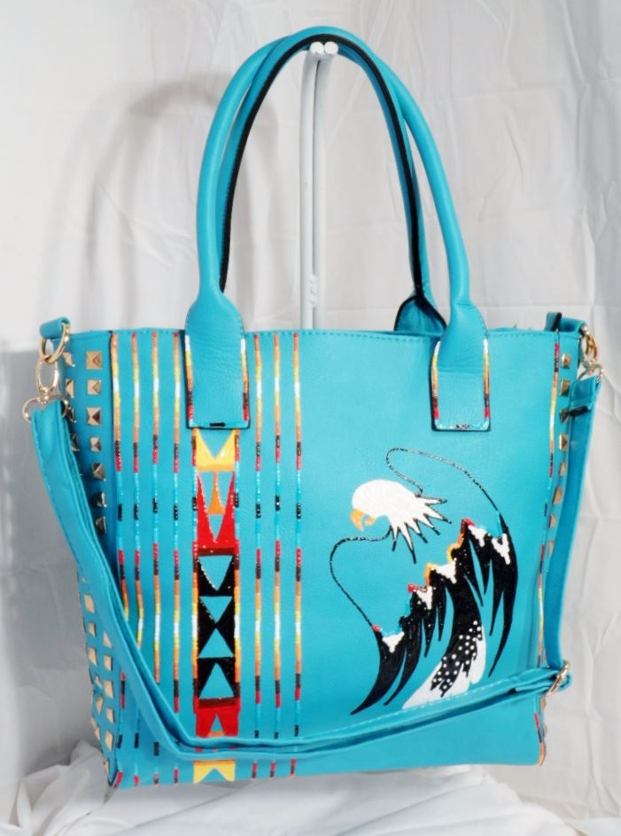 Hand Painted Purse by Rez Hoofz | Native Style | Pinterest ...