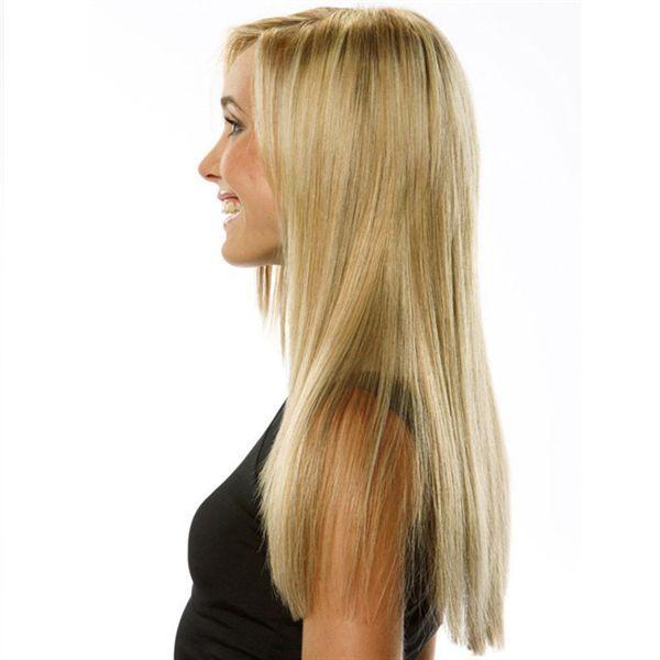 Clip On Extensions - Blond 40 cm - Billig kun 349 kr