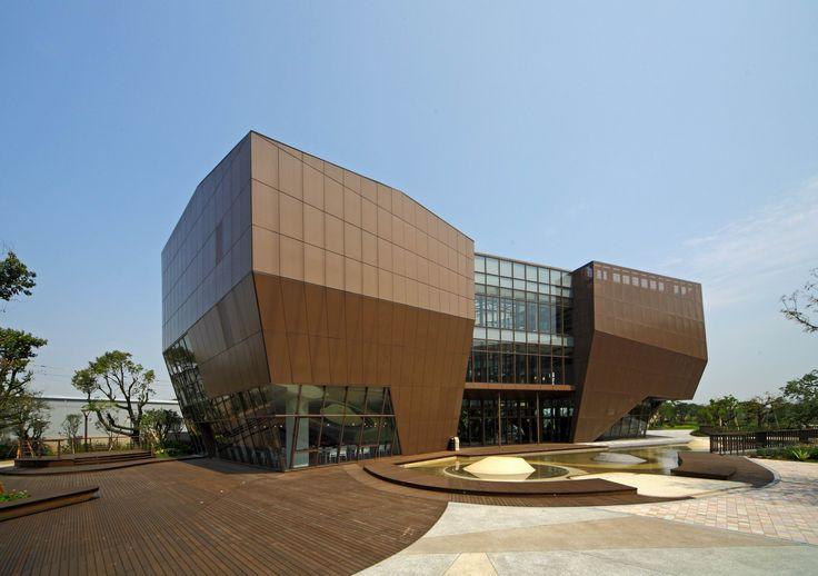 Museo del Chocolate Hunya / JJPan.  Taoyuan, Taiwan, 2012.   Para comérselo...