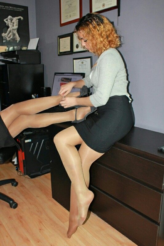 See More Pantyhose Couples 9