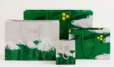 J.Crew holiday bags - the design process