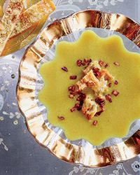 Red Lentil Soup with Cumin and Fried Onions Recipe on Food & Wine #makeahead #quickmeal #lunch