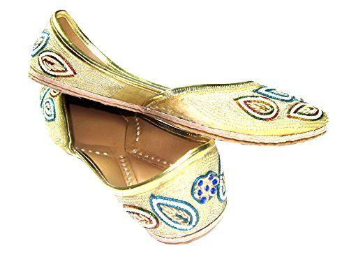 Womens Flats Shoes Blue, Green, White Pearl Embroidered Indian Ethnic Punjabi Jutti Leather Footwear Mogul Interior http://www.amazon.com/dp/B00SKLMDYM/ref=cm_sw_r_pi_dp_hVU9ub1TASQQZ