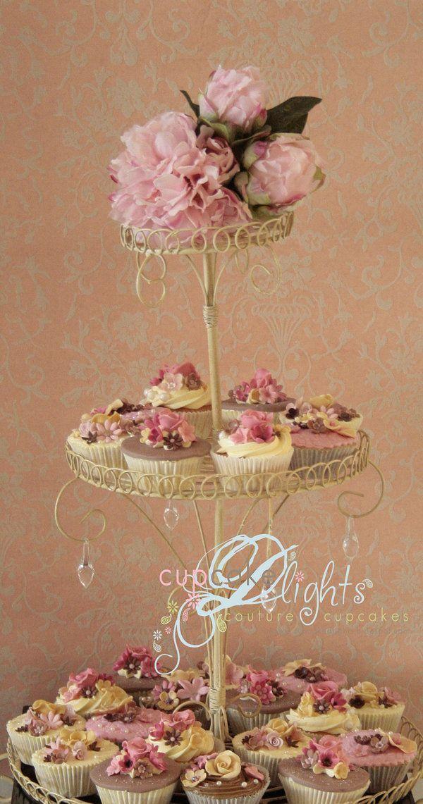 shabby chic cupcake stand by ~ZaLita on deviantART
