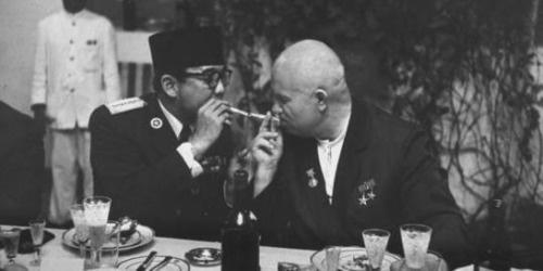 Soekarno - Kruschev