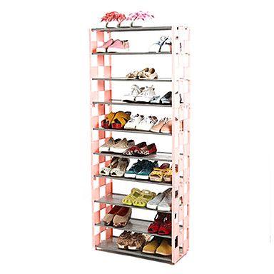 metalen schoenen rek voor schoenen opslag een stuks - EUR € 24.99
