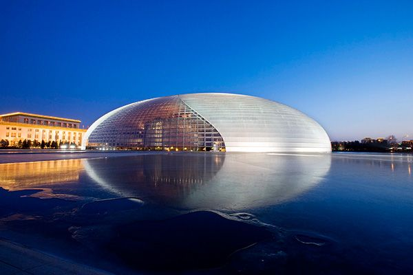 Оперный театр Пекина The National Centre for the Performing Arts