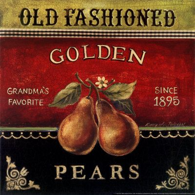 Golden Pears-I need this print