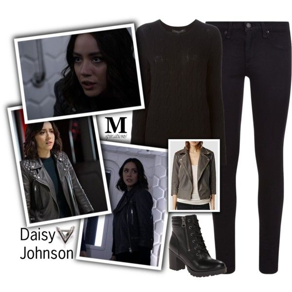 A fashion look from January 2018 by m-spirations featuring Ralph Lauren Black Label, rag & bone, Steve Madden i AllSaints