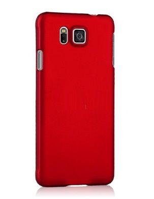 Rubber Plastic Θήκη Πλαστική Κόκκινη OEM (Samsung Galaxy Alpha G850F) - myThiki.gr - Θήκες Κινητών-Αξεσουάρ για Smartphones και Tablets - Πλαστική Κόκκινη