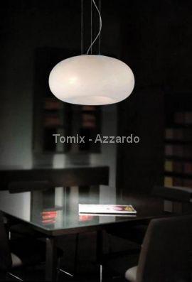 Lampa wisząca OPTIMA chrom/ biel (AD6014-5B Azzardo)