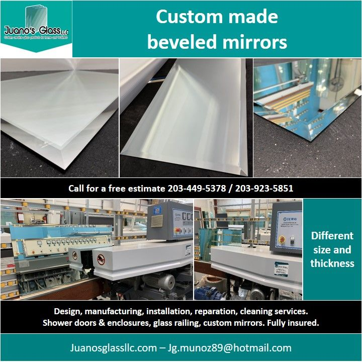 We Offer Custom Glass Products For Home And Business Call For A