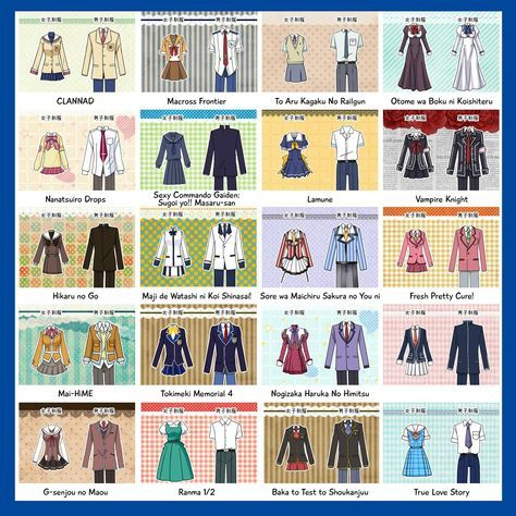Super Drawing Anime School Uniforms Ideas – Kawaii