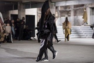 Rick Owens FW17 Had Balloon Suits and Crazy adidas Sneakers