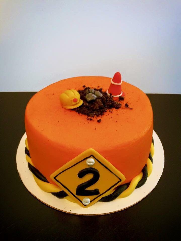 98 Best Construction Cake Images On Pinterest Birthdays