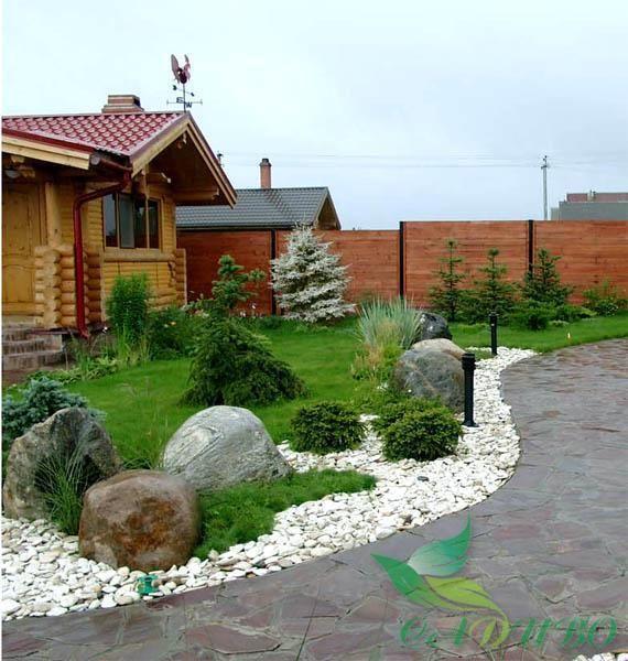 Ландшафтный дизайн фото от студии Садиво, Киев