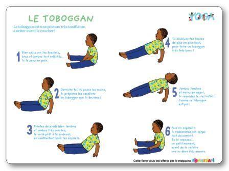 Exercice de yoga : le toboggan