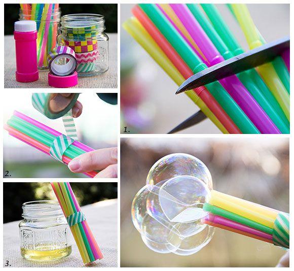 bellenblaas, zelf, maken, zelfgemaakte, diy, knutselen, plakken, masking tape…