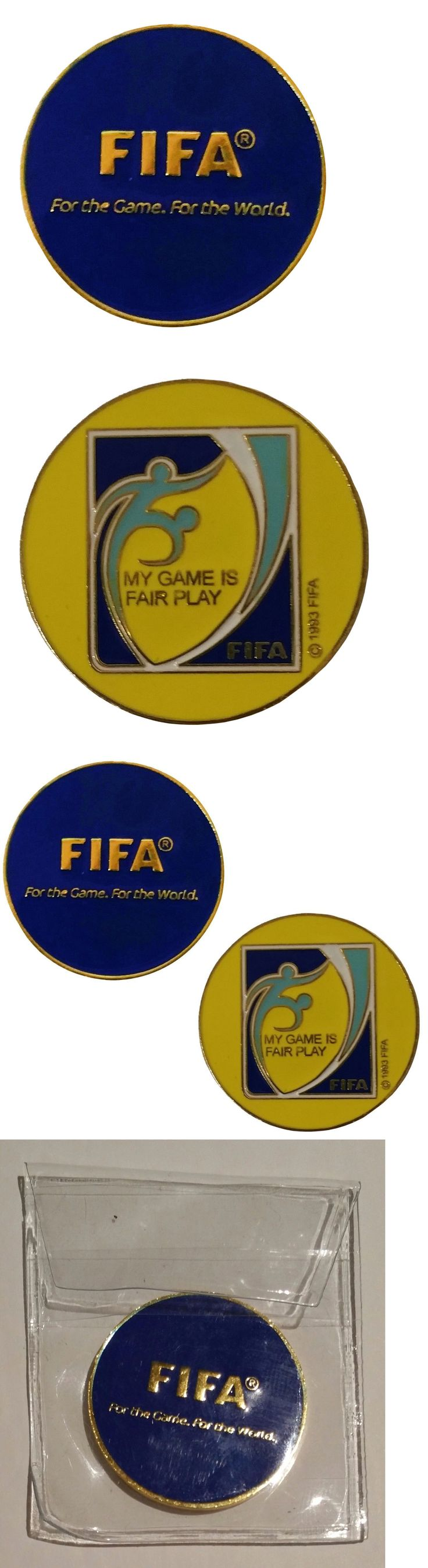 Other Soccer 2914: Fifa Soccer (Football) Referee Flip Toss Coin With Plastic Sleeve (4 Pack) -> BUY IT NOW ONLY: $34.49 on eBay!