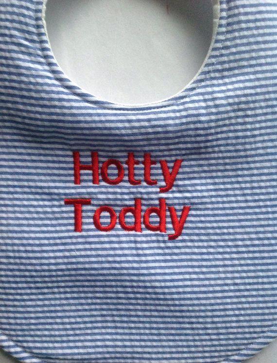 Ole Miss Hotty Toddy Baby Bib Ole Miss Baby Bib by DollyandGeorge, $10.00