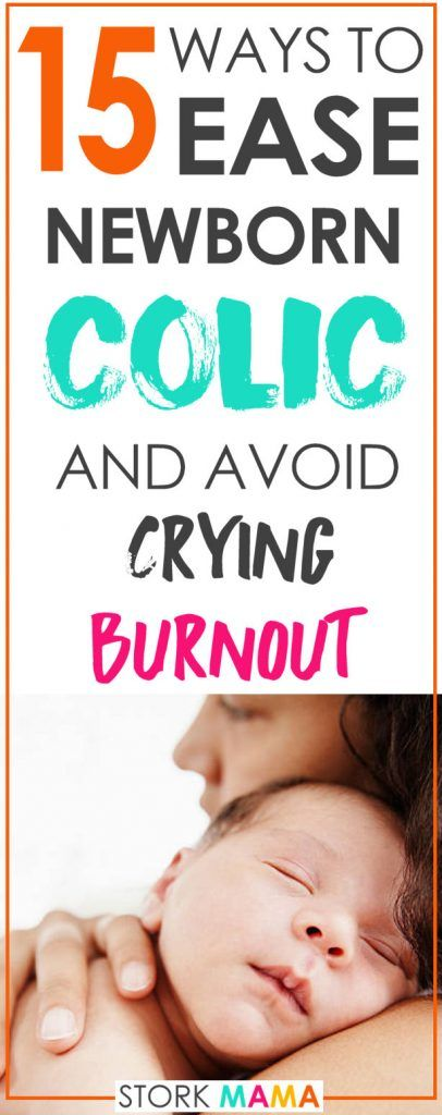 Colic symptoms are common for newborn babies. Constant crying can leave you and baby exhausted. If you're looking for a bit of colic relief then check out these easy remedies you can do at home.15 Ways to Ease Baby Colic and avoid crying burnout. Stork Mama