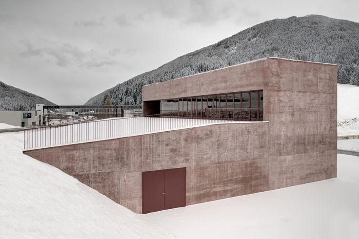 Fire Station Vierschach | Architect Magazine | Pedevilla Architects, Vierschach, South Tyrol, Italy, Government, Community