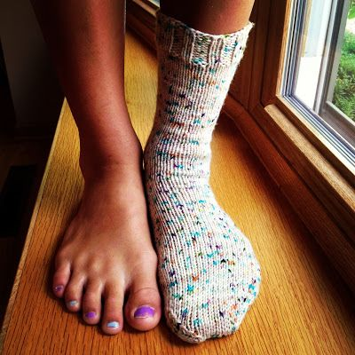 Susan B. Anderson: How I Make Worsted Weight Socks!