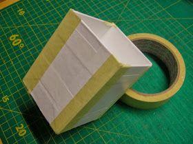 Multicolor's Blog: Anleitung zum Formenbau (mit Karton und DC-Fix-Folie)