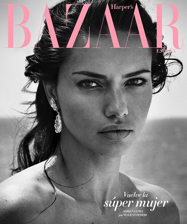 Y en la portada de suscriptores... un primer plano de @adrianalima con la Costa Azul de fondo. Fotografía de @vincentpeters1 estilismo de @bdelacova #bazaarjulio  via HARPER'S BAZAAR SPAIN MAGAZINE OFFICIAL INSTAGRAM - Fashion Campaigns  Haute Couture  Advertising  Editorial Photography  Magazine Cover Designs  Supermodels  Runway Models