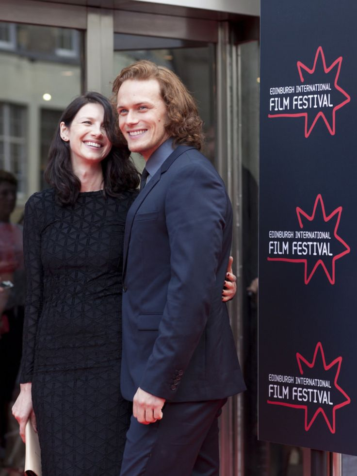 HQ Pics of Sam Heughan and Caitriona Balfe at the Edinburgh International Film Festival | Outlander Online