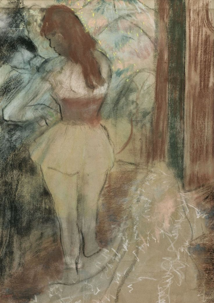a biography of edgar degas a french artist Original 1897 wood engraving danseuse by edgar degas engraved by andrin signed in the plate edgar degas was a french artist famous for.