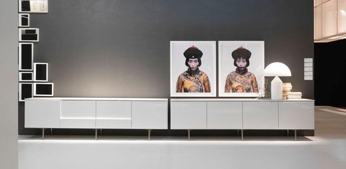 505/ed.2011, Gio Ponti frames by Molteni&C