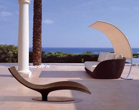 Modern patio furniture from trendir.com