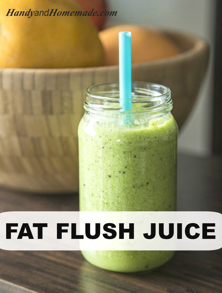 Fat Flush Juice Recipe For Weight Loss | Handy & Homemade