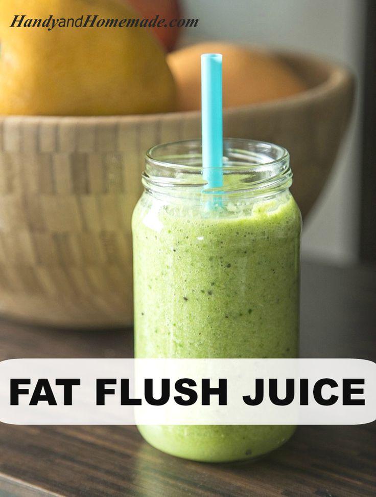 Fat Flush Juice Recipe For Weight Loss   Handy & Homemade