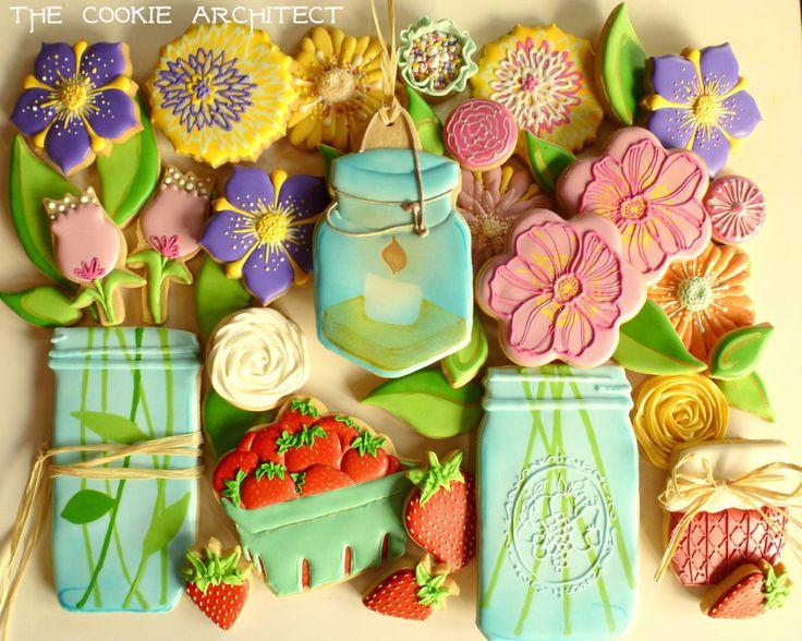 ... jars on Pinterest | Mason Jar Cookies, Mason Jar Flowers and Cookies
